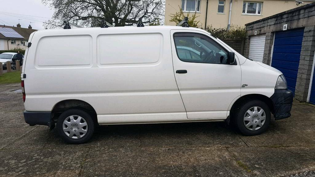 Toyota hiace 2 5 d4d remapped 96000 miles | in Portishead, Bristol | Gumtree