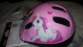Girls Bike Helmet Pony Brand New