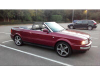 1year MOT. Audi 80 Cabriolet Convertible 2.6 V6 Automatic, VERY CLEAN