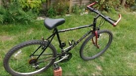 """Outland 26"""" New Tyres Mountain Bike 20"""" Solid Frame Raleigh"""