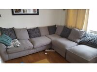 Corner sofa, ONLY 2 years old....in great condition