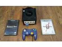 nintendo GameCube plus 3 games