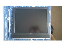 """LG TV LCD 20"""" FOR SALE IN VERY GOOD CONDITION (BOURNEMOUTH, BH1, 36 DERBY RD)"""