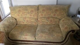 X2 Two seater sofa & armchair