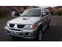 Mitsubishi Shogun Sport Warrior 2.5 td 4 X 4 (55 plate 2005) (GET READY FOR THE WINTER )