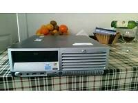 Hi compaq pc 7600 small came