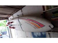 Windsurfing Set - Mistral Competition SST Long Board & Chapter 295 Short Board with Neil Pryde Sails