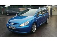Peugeot 307 1.6 Sw Envy 7 Seater Paranomic Roof