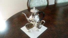 Silver plated ARTHUR PRICE coffee set