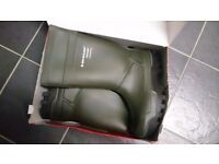 DUNLOP THERMO+ PUROFORT SAFETY WELLIES SIZE 12