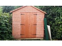 Immaculate Wooden Cabin Shed with extras