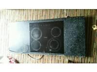 Electric ceramic 4 ring hob cooker