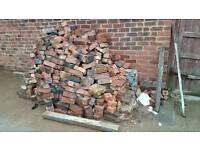 Free engineering bricks old style rubble hardcore blocks