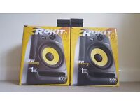 KRK Rokit 6 G3 w/ Isolation Pads + Cables