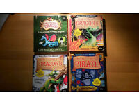 'How to Train a Dragon' - 4 Audio books on CD