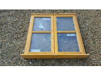 3 no Jeld wen double casement windows
