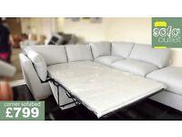 Designer buoyant Barley 2 piece corner sofabed £799