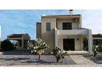 Holiday Villa near Long Beach, N.Cyprus close to Sea & Sandy Beach available for Short Term Rentals