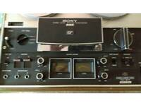 SONY TC -377 REEL TO REEL PROFESSIONAL 4 TRACK TAPE DECK