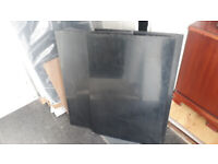 MDF panels black