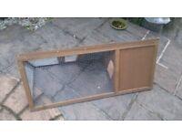 Wooden Outdoor Rabbit Hutch Run ~~Guinea Pig Ferret Coop Cage~~