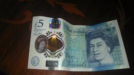 AK43 .5 pound brand new note