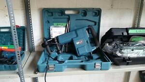 JACK HAMMER DEMOLITION BREAKER HEAVY DUTY 14 AMP SDS MAX + 2 BITS + CASE + WARRANTY + FREE SHIPPING!!