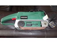 230 volt 900 watt Parkside belt sander