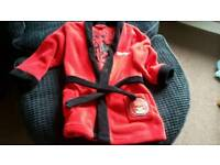 Angry birds dressing gown 6-7 years