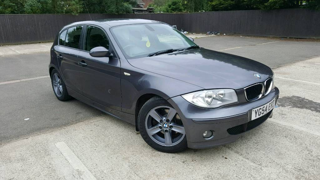 2004 Bmw 1 Series 2 0 120d Sport 163 Bhp 5dr Grey Diesel Hatchback In Peterborough