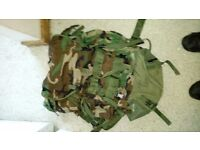 Army rucksack grab a bargain must go need space