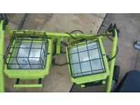 *Power Light* Large Garden / Construction Lights £20