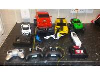 X4 remote cars / ×2 helicopter