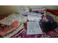 3 to 6 girls clothes bundle