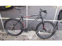 Mens cannondale 27.5in mountain bike 3 month old with receipt