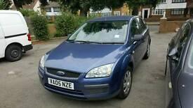 Ford focus 1.6 petrol.hatchback blue