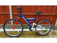 Great mens 26inch dual suspension mountain bike in good condition all fully working