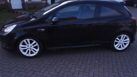 Vauxhall Corsa 1.2, white alloy wheels, blue tooth pioneer radio system.