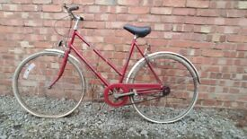Ladies Hercules vintage bicycle, 1930s 1960s cycle bike exact age unknown