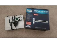 Digital TV receiver Freeview box TEVION