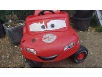 Lighten McQueen ride on