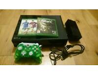 Xbox One Console and 2 games