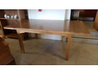 Oak Extendable Dining Table