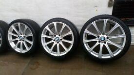 Bmw E60 61 M5 rep alloys 19 inch 245/35/19zr