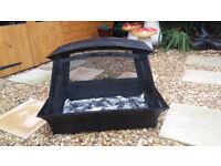 Garden fire pit. . Wood burner