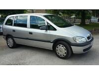 Vauxhall zafira 7 seater 1.8 petrol full mot
