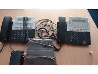 Samsung office phones plus answering unit