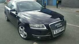 Audi a6 2.0tdi se auto black 4 door saloon sat nav