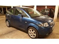 AUDI A2 1.4 SPECIAL EDITION ONLY 12K MILES ONE OWNER SIMILAR TO GOLF FOCUS ALTEA
