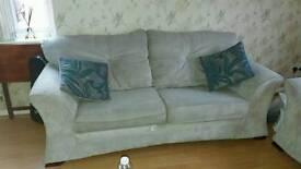 3&2 light fret Soft fabric settee